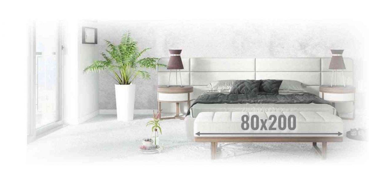 Materace kieszeniowe 80x200 - sprężynowe |   A   L   V   A   R   E