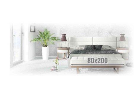 Materace piankowe 80x200
