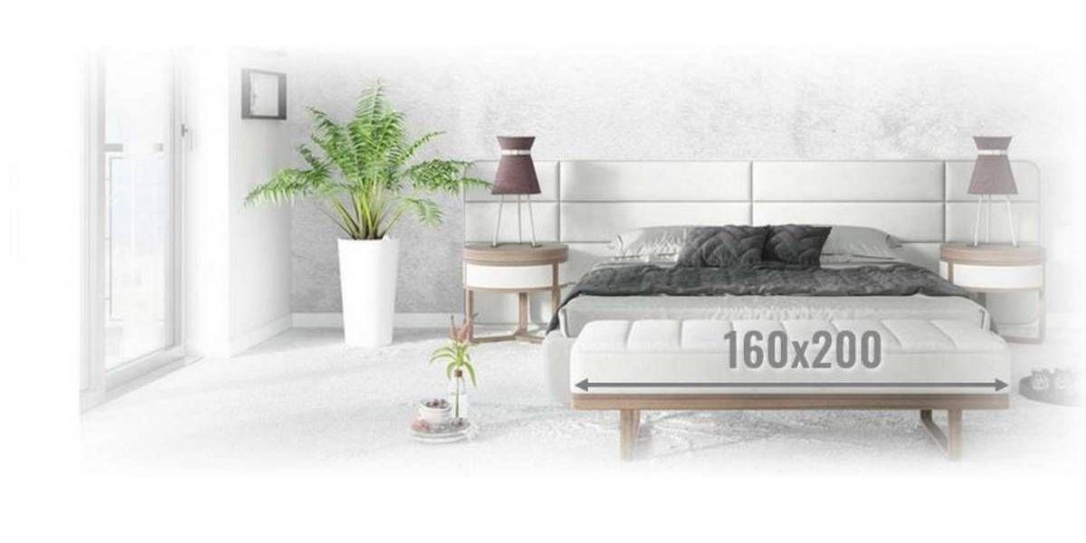 Materace 160x200 ☆ Dwuosobowe do większej sypialni ☆ | A L V A R E