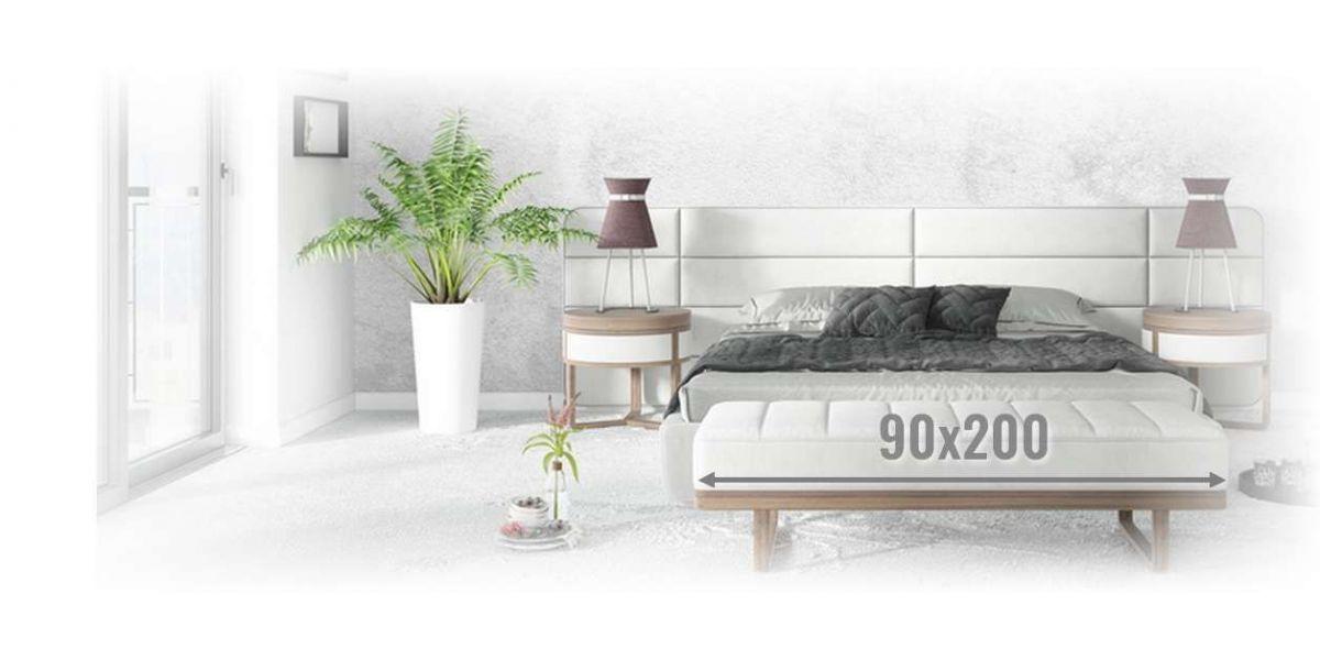 Materace kieszeniowe 90x200