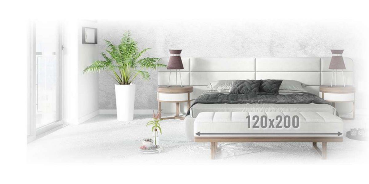 Materace piankowe 120x200