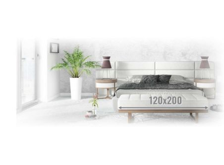 Materace lateksowe 120x200