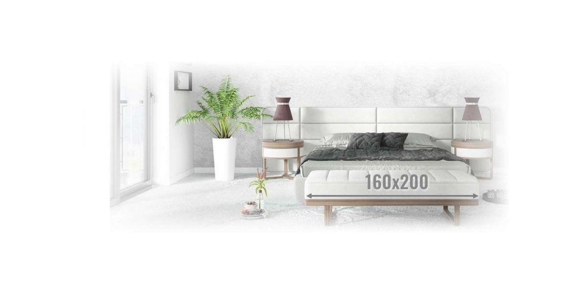 Materace Piankowe 160x200